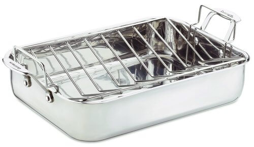 Cuisinart chef's classic stainless steel roaster