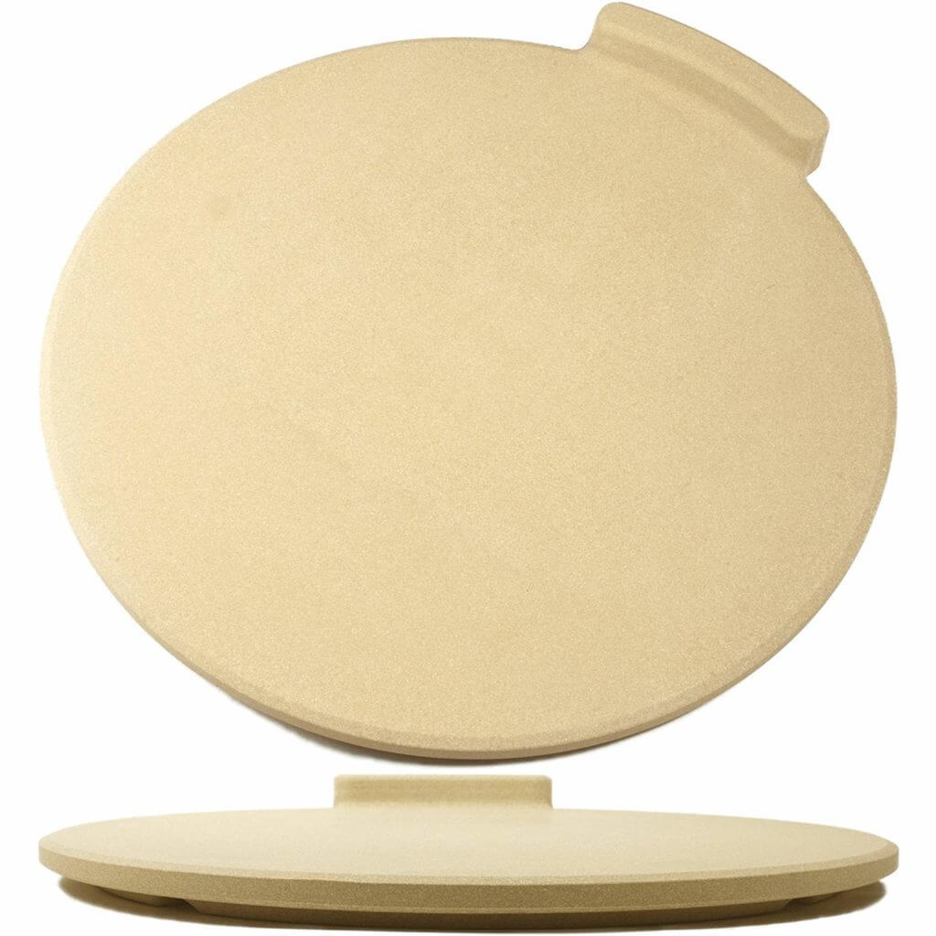 The ultimate thick round pizza stone