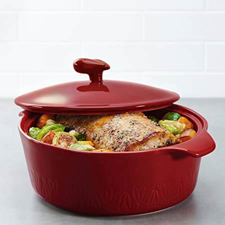 Ayesha curry home stoneware,  casserole dish