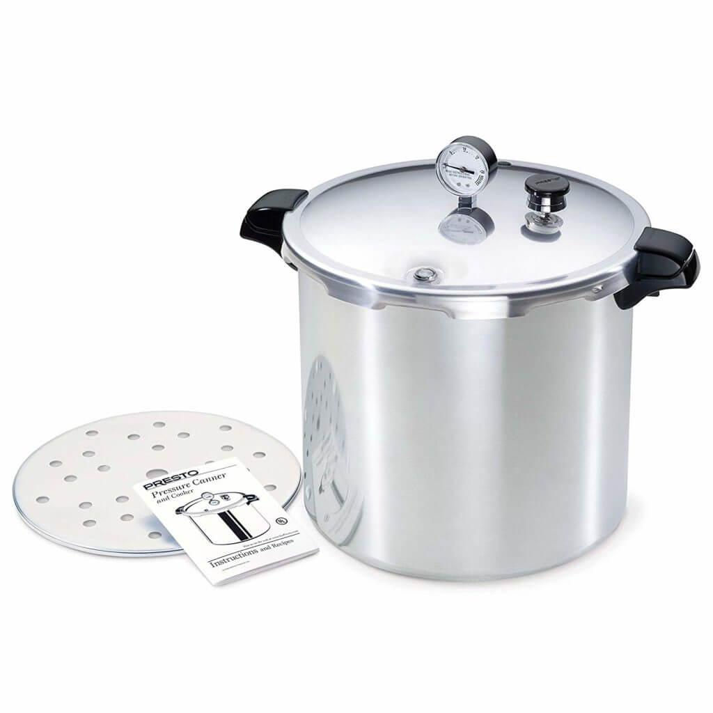 Presto 01781 23- quart  Pressure cooker, best pressure cooker for induction hob.