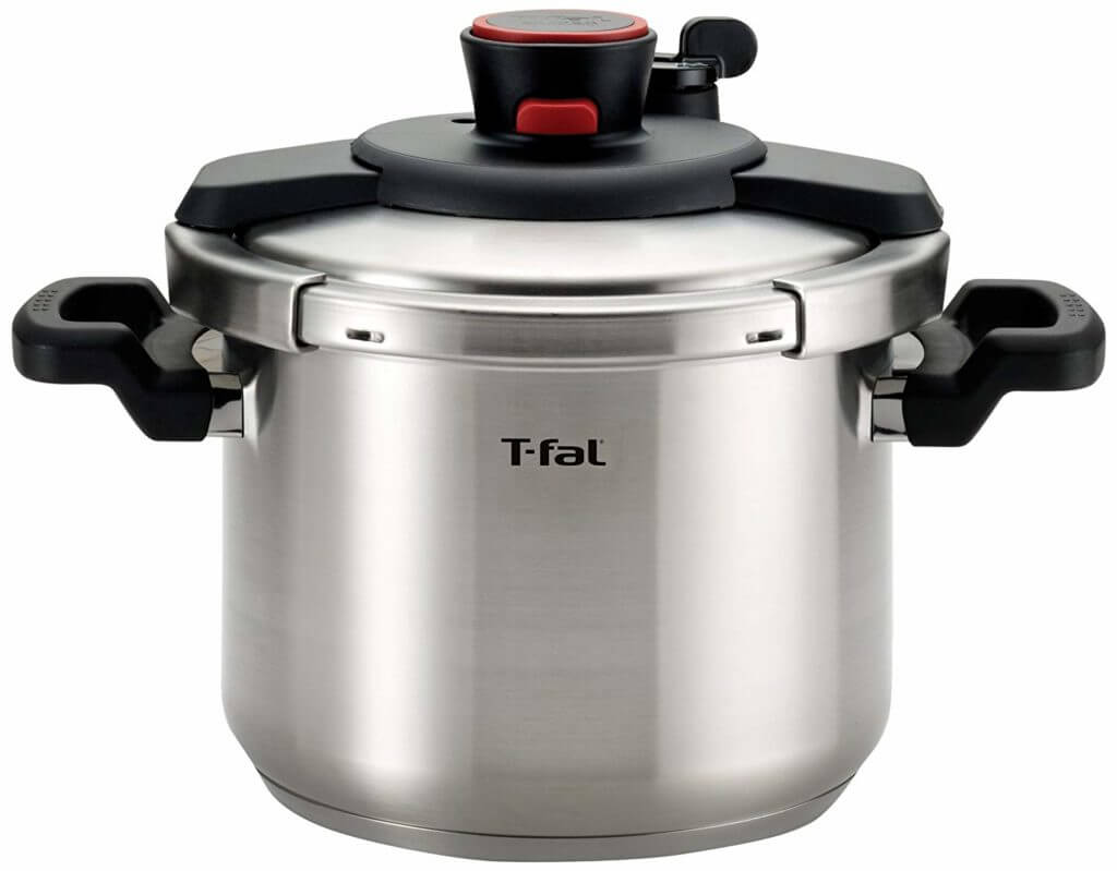 T-fal clipso stainless steel pressure cooker .Best pressure Cooker For Induction hob