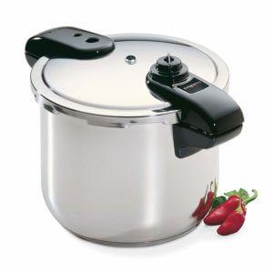 Presto 01370 8- quart stainless steel pressure cooker. Best pressure Cooker For Induction hob