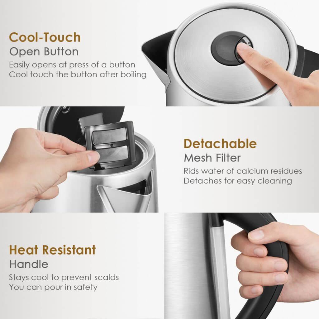 Best electric tea kettle variable temperature