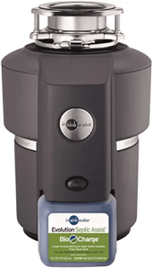 InSinkErator Evolution 3/4 HP Household Garbage Disposal -- Best Septic System Safe Disposal