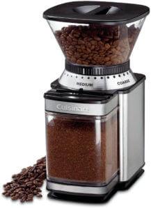 Best coffee grinder under 50 dollars- Cuisinart DBM-8 Supreme Grind Automatic Burr Mill
