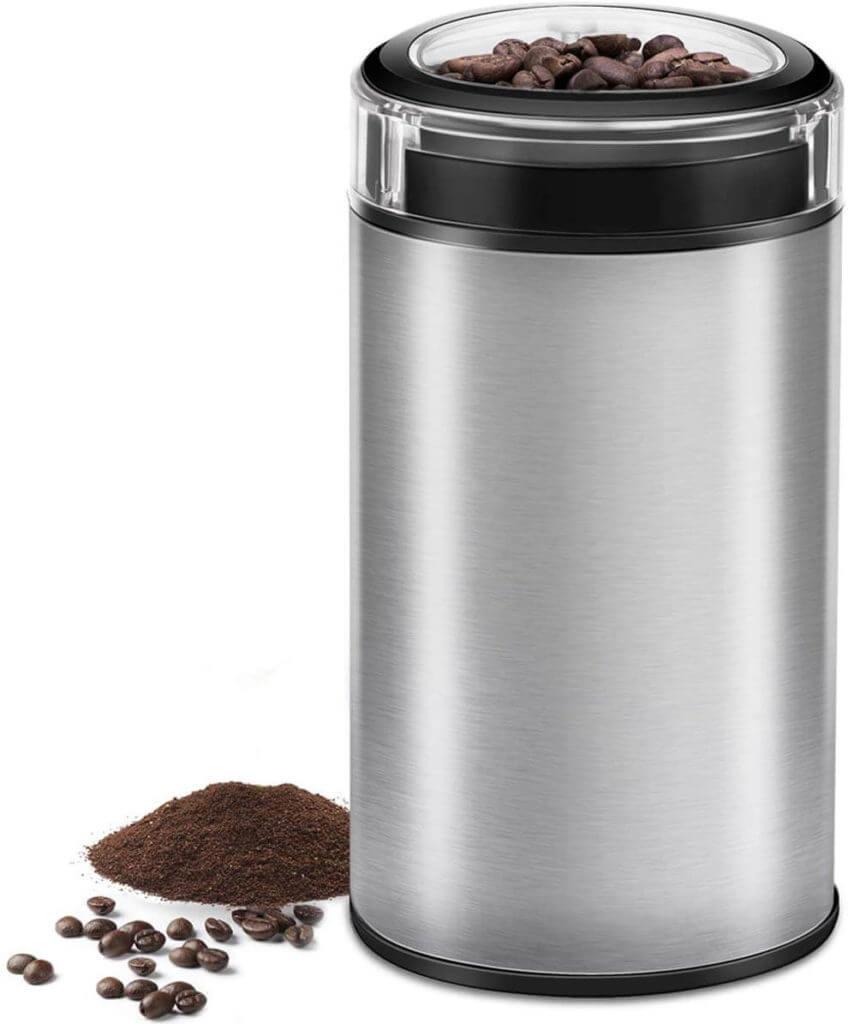 Cusibox Electric Coffee Grinder Spice Grinder - Stainless Steel Blades