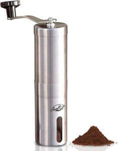 JavaPresse Manual grinder , best manual coffee grinder under 50