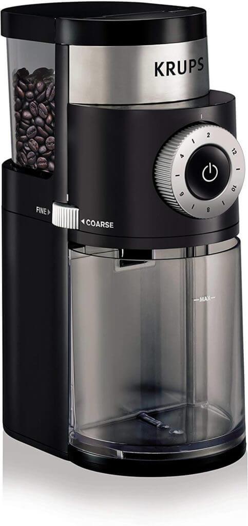. Krup GX5000 Professional Electric Coffee Burr Grinder