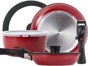 ROCKURWOK Nonstick Cookware Set 8-Piece.